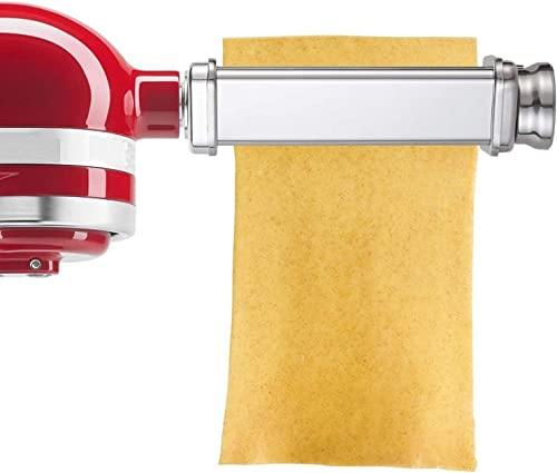 Pasta Roller Attachment for Kitchenaid Stand Mixer,Stainless Steel,Mixer Accessory by Gvode product image