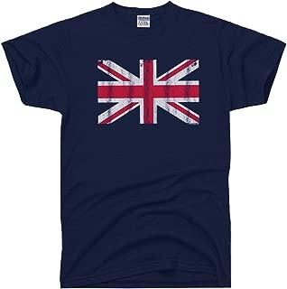 Men's Great Britain Flag England British Union Jack T-Shirt