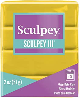 Polyform Sculpey Polymer Oven Bake Modelling Clay 56g Yellow