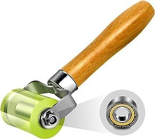 LUMITECO Bearings Equipped Automotive Car Audio Sound Deadening Application Wheel Roller, Heat Abatement Mat Wallpaper App...