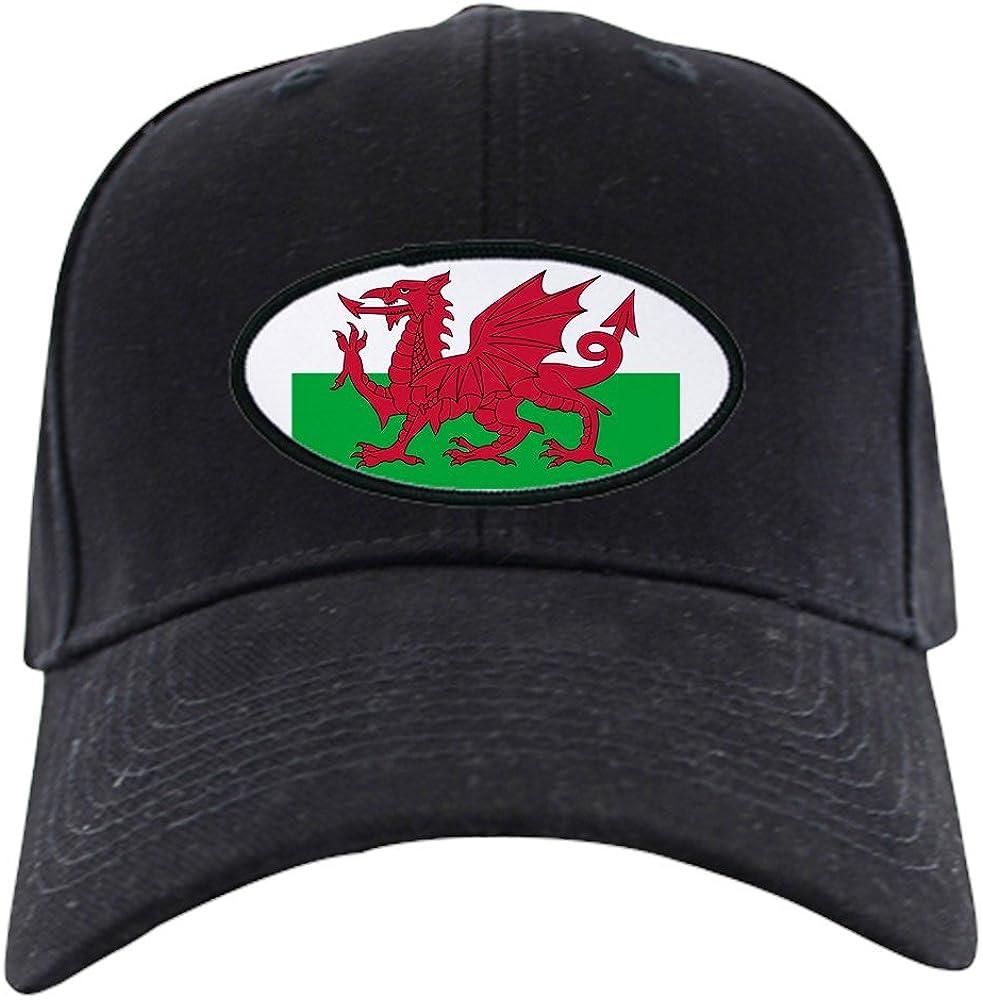 CafePress Welsh Flag Black Novelty Cap Superior Baseball Max 69% OFF Hat