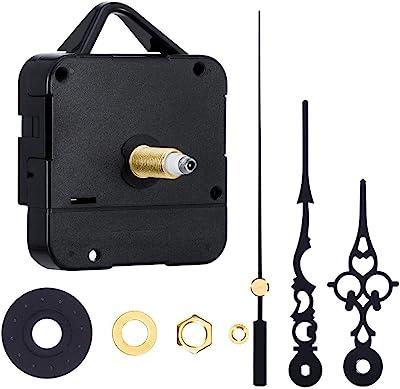 Long Clock Hand Mechanism Metal Brass Rod 6 mm Spindle Movement Loft DIY Motor