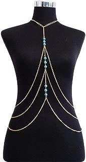 YSDHE Body Chain Bikini Chain Belly Chain for Women and Girls