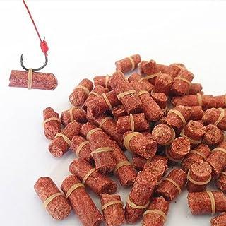 Cebo de pesca con elástico, fuerte olor, de proteínas de trigo, señuelos de pesca gruesos para pesca de agua dulce (3,5 mm, 60 g)