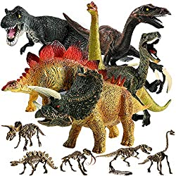 11 Piece Dinosaur Playset - Up to 40% Off!