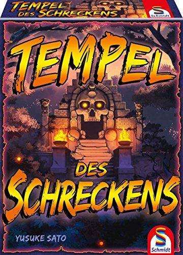 Schmidt Games 75046 Tempel van schrik, spel en kaartspel