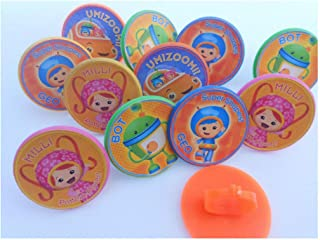 12pcs Cute Cake cupcake toppers birthday party favor pinata loot bag Gift (Umizoomi)