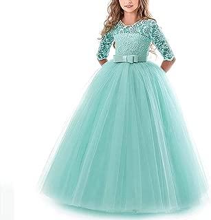 Surprise S Kids Bridesmaid Flower Girls Dresses Party Wedding Dress Girls Easter Children Pageant Gown Princess Dress