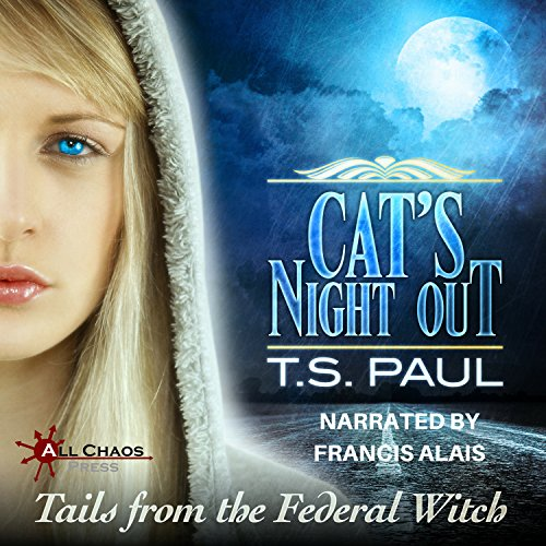 Cat's Night Out audiobook cover art