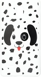 Asmyna LGP769CASKCAIM1042NP Premium Slim and Durable Protective Cover for LG Optimus L9 P769 - 1 Pack - Retail Packaging - Dotted Dalmation
