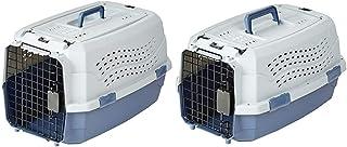 AmazonBasics Two Door Top Load Pet Kennel (23-inch) & AmazonBasics Two Door Top Load Pet Carrier (19-inch)