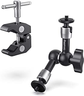 """SmallRig Super Clamp w/ 1/4"""" and 3/8"""" Thread and 5.5 Inches Adjustable Friction Power Articulating Magic Arm with 1/4"""" Thr..."""