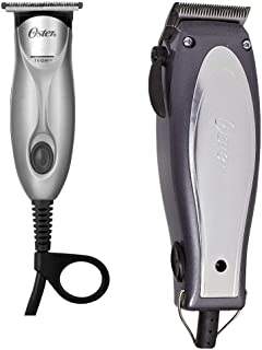Oster 76380-710 Combo Cool Vibes Adjustable Clipper & Teqie Trimmer with Combs, Oil etc.