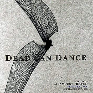 Live from Paramount Theatre, Seattle, WA. September 17th, 2005
