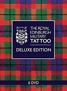 The Royal Edinburgh Tattoo Deluxe Edition (6DVD) 2011, 2012, 2013, 2014, 2015 + Bonus DVD