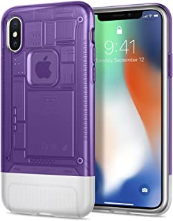 Spigen Protector Cover For Iphone X- 057Cs24431, Multi Color