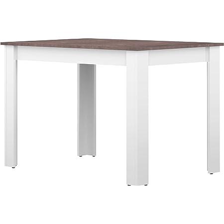 Table à Manger Béton 111 x 70 x 73,4 cm, 2280A2198X00