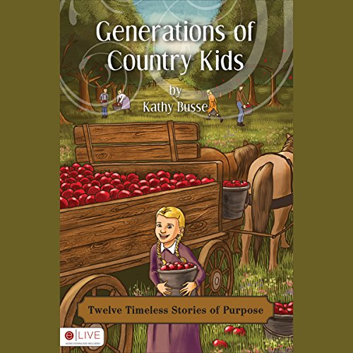 Generations of Country Kids audiobook cover art