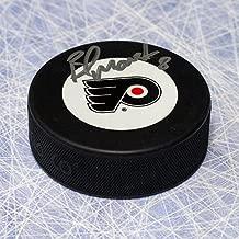 Brad Marsh Philadelphia Flyers Autographed Hockey Puck - Signed Hockey Pucks