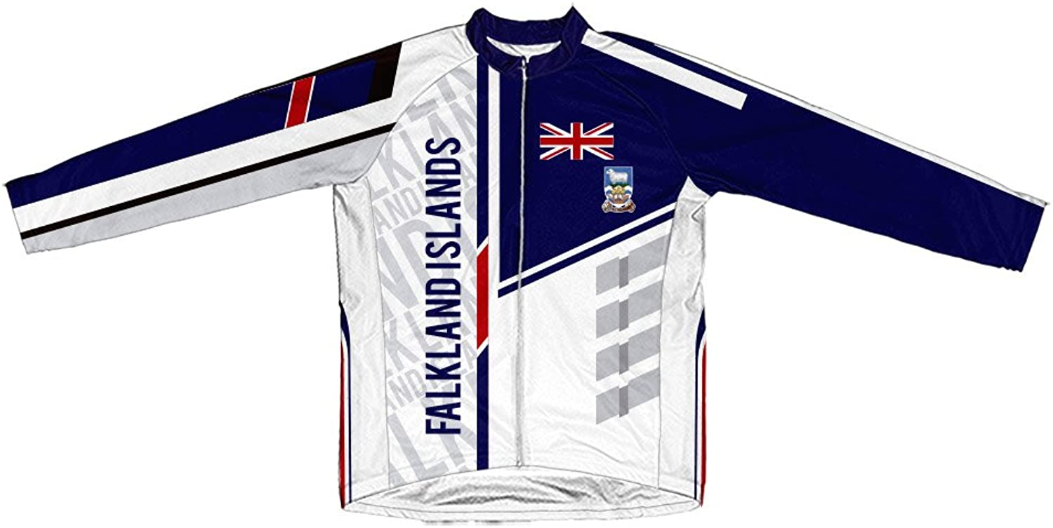 Falkland Islands ScudoPro Winter Thermal Cycling Jersey for Women
