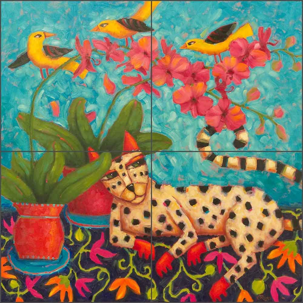 Cat Tile Backsplash A Knowing Glance Cindy Tucson Mall by Bat Kitchen Revell Cash special price