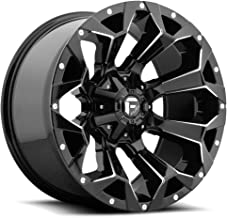 FUEL Assault BL -Gloss BLK Wheel with Painted (20 x 9. inches /6 x 135 mm, 1 mm Offset)