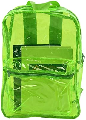 Transparent Backpack Bags PVC Clear School Fashion Girls Bagpack for Women 2018 Mochila escolar