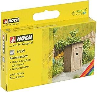 Noch - 14359 - Modélisme - Matériaux De Surface - Laser-Cut Toilette - 2 Pièces