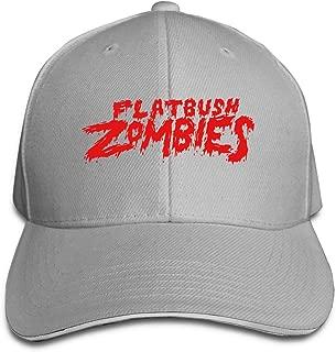 Flatbush Zombies Unisex Adjustable Peaked Cap Cotton Sandwich Caps