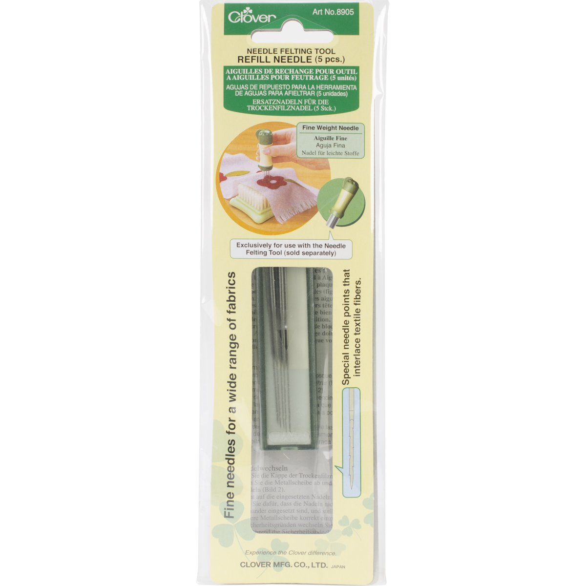 CLOVER 507079 Pen Style Needle Felting Tool New