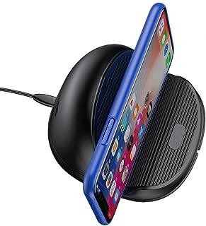 携帯電話のワイヤレス充電器ドーナツワイヤレス充電、10W高速充電冷却充電ベース多機能マイクロUSBワイヤレス充電、iPhone/Samsung/Sony/Huawei/Nokia/HTC/LG互換モデル