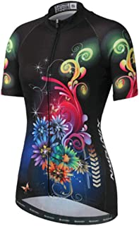 Womens Cycling Jersey Short Sleeve Lady Cycle Racing Clothing Suit Bicycle Bike Shirt D26
