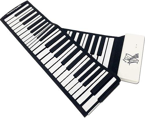 LIUFS Rollen Klavier Verdickung Professional Version Portable Klapp Tastatur