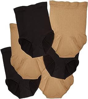 Tristar Products Inc Slim Panties 360 6 Pack 3 Black/3 Nude