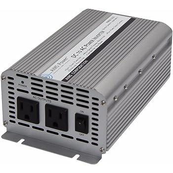 AIMS 1250 Watt / 2500 Watt Peak DC to AC Power Inverter, Economical