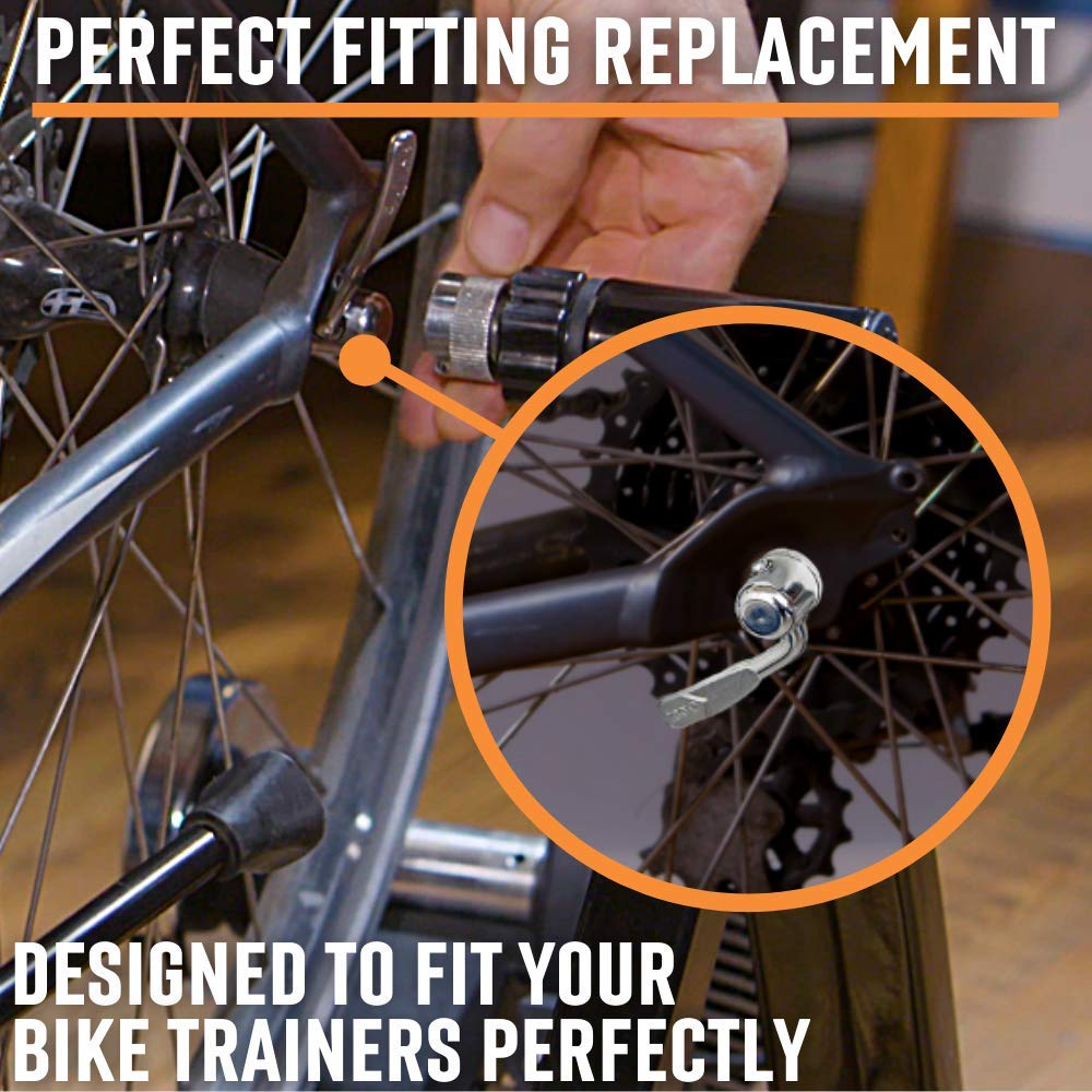 KPOON Bicycle Quick Release Lever Bike Wheel Hub Rear Skewers Clip MTB Mountain Bicycle Accessories Cycling Training Platform Quick Release Accessories 175mm for Road Bike MTB Bike