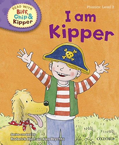 Read with Biff, Chip and Kipper Phonics: Level 2: I Am Kipper (English Edition)