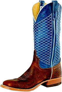 Anderson Bean Mens Mike Tyson Bison Cowboy Boots