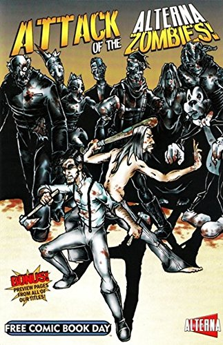 Attack of the Alterna Zombies Free Comic Book Day