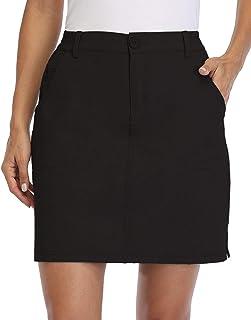 Willit Women's Outdoor Skort Golf Skort Casual Skort Skirt UPF 50+ Quick Dry Zip Pockets Active Hiking