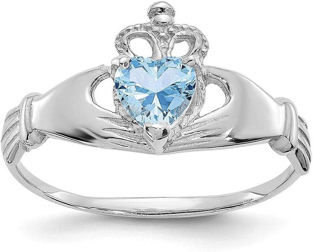 Wholesale 14k CZ Cubic Zirconia Simulated Birth Diamond Month Irish Cladda Al sold out.