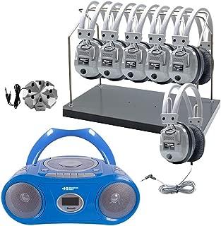 listening center rack