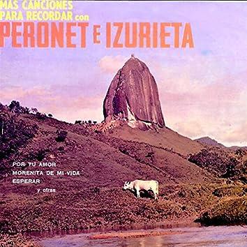 Más Canciones para Recordar Con Peronet e Izurieta