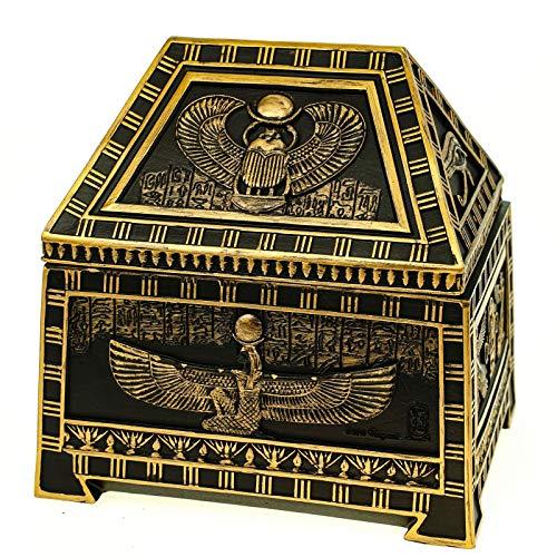 Veronese Ägyptisches Isis Scarabaeus Kästchen 18 cm Ägypten Pharao Sphinx