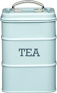 Kitchen Craft Living Nostalgia Tea Contenedor de Té, Azul (Vintage Blue)
