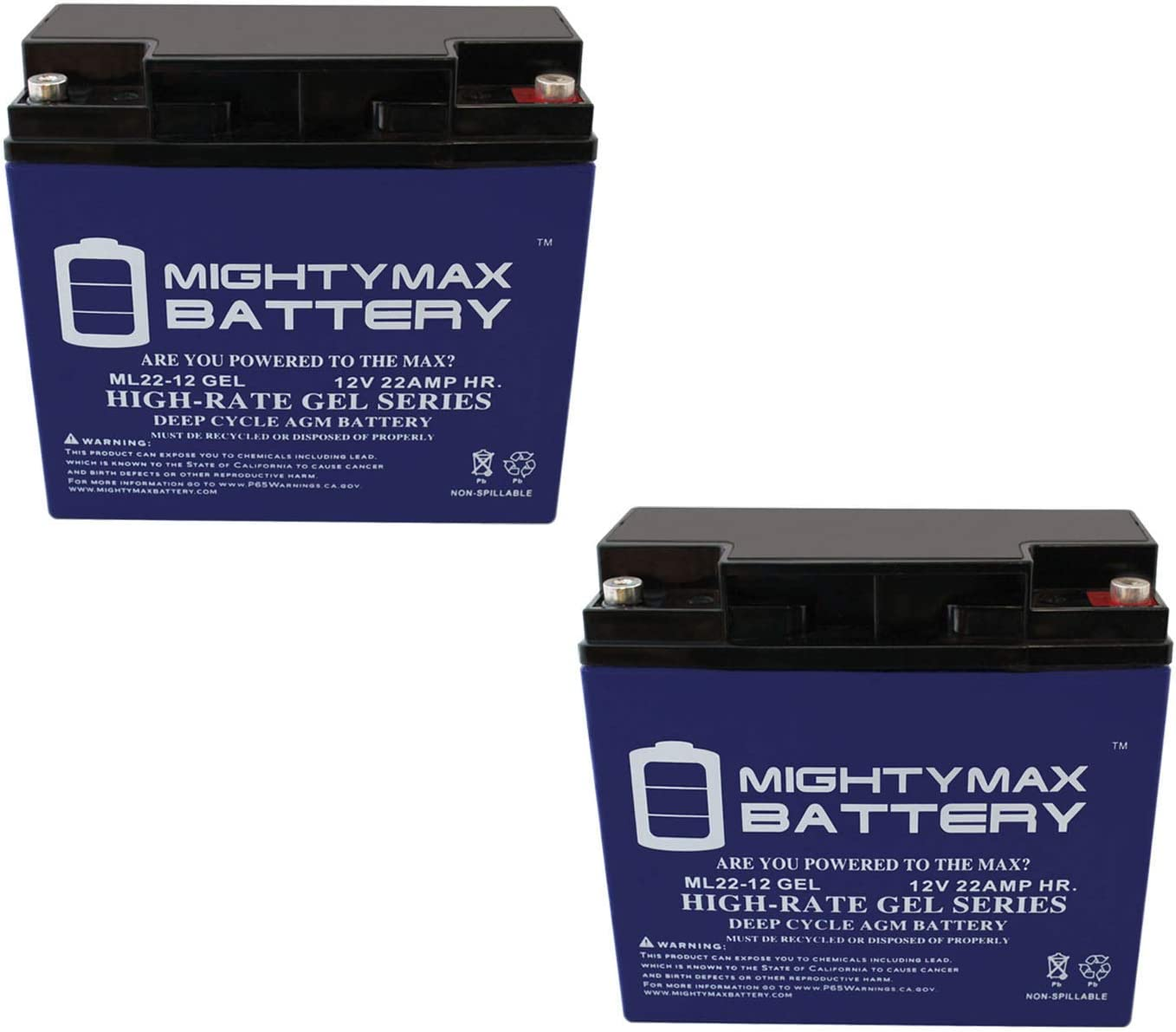 Mighty Max Battery 12V 22AH Gel III Amigo Fiesta for Fashionable Sales of SALE items from new works 720