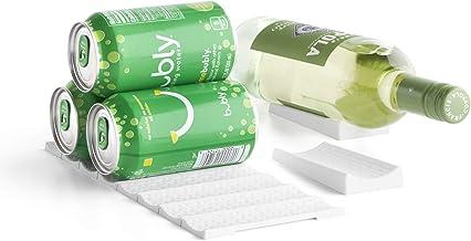 علب وزجاجات فريدج فيو من يوكوبيا، حجم واحد، لون أبيض