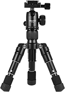 Andoer Xiletu ultra-compact mini desktop tripod kit with ball head for Canon Nikon DSLR camera