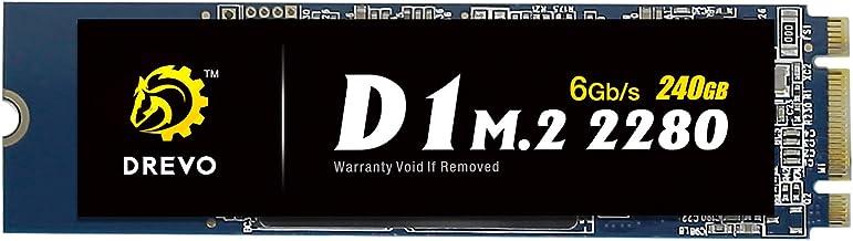 Drevo D1M.22280240 GB Interno SSD, Memoria de Estado sólido, Lectura 500 MB/s, Escritura 500 MB/s