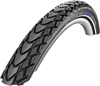 Schwalbe Marathon Mondial HS 428 Double Defense City/Touring Bicycle Tire - Folding (Black-Reflex - 27.5 x 2.00)